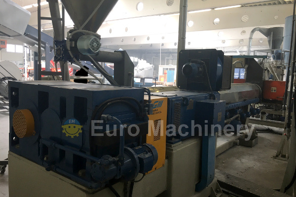 Gamma Meccanica - used recycling line